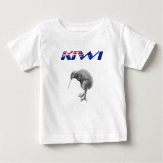 Cadeaux de logo de drapeau de la Nouvelle Zélande T-shirt Pour Bébé