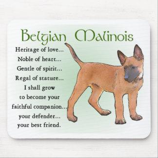 Cadeaux de Malinois de Belge Tapis De Souris