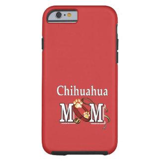 Cadeaux de maman de chien de chiwawa coque iPhone 6 tough