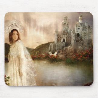 Cadeaux de mariage de princesse Fantasy Castle Tapis De Souris