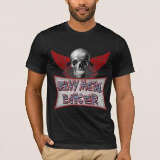 Cadeaux de métaux lourds de T-shirts de cycliste