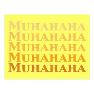 Cadeaux de Muhahaha Carte Postale