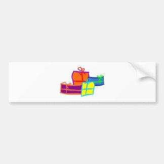 Cadeaux de Noël christmas presents Autocollant De Voiture