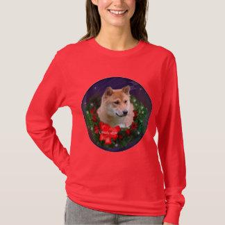 Cadeaux de Noël de Shiba Inu T-shirt