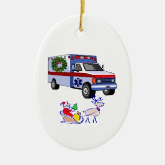Cadeaux de Noël de SME Ornement Ovale En Céramique