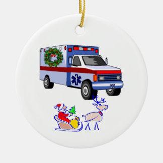Cadeaux de Noël de SME Ornement Rond En Céramique