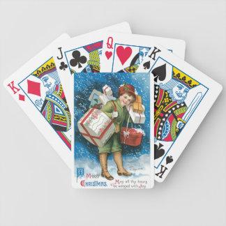 Cadeaux de Noël vintages Jeux De Poker