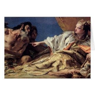 Cadeaux de offre de Neptune vers Venise (fresque Carte De Vœux
