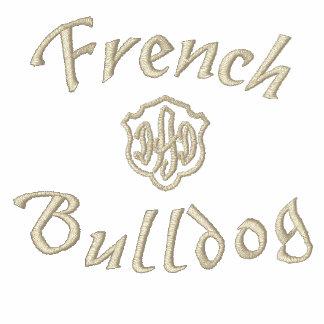 Cadeaux de papa de bouledogue français polo avec broderie