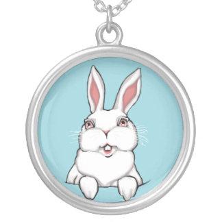 Cadeaux de Pâques de bibelot de lapin de Pâques de Pendentif Rond