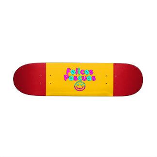 Cadeaux de Pâques pour les orateurs espagnols Feli Plateaux De Skateboards Customisés