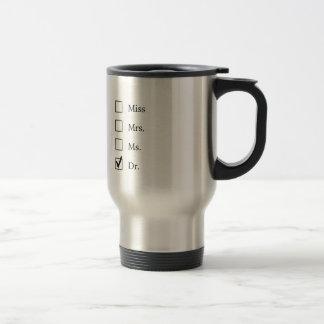 Cadeaux de PhD pour des femmes Mug De Voyage