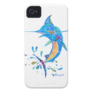 Cadeaux de poissons de Marlin Coque Case-Mate iPhone 4