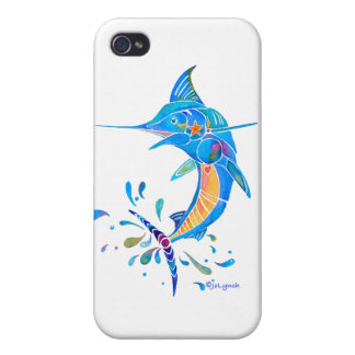 Cadeaux de poissons de Marlin Coque iPhone 4