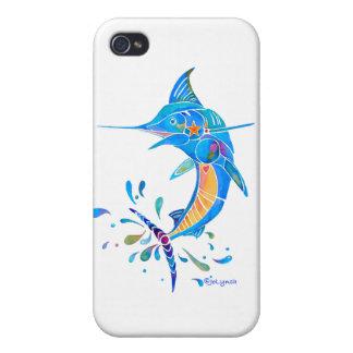 Cadeaux de poissons de Marlin Coques iPhone 4