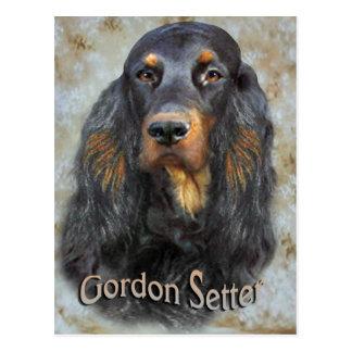 Cadeaux de portrait de poseur de Gordon Carte Postale