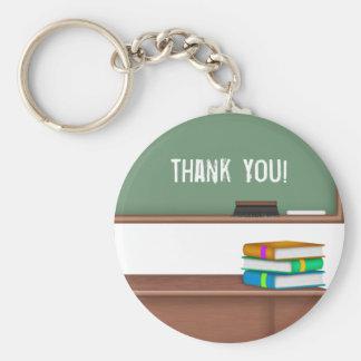 Cadeaux de professeur de Merci Porte-clés