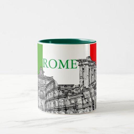 Cadeaux de souvenir de voyage de Roma, Rome… Tasse À Café