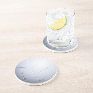 Cadeaux de sport du volleyball | dessous de verre en grès