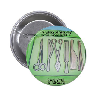 Cadeaux de technologie de chirurgie badge rond 5 cm