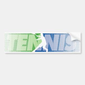 Cadeaux de tennis pour les joueurs et l'adhésif autocollant de voiture