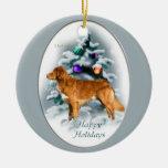 Cadeaux de tintement de Noël de chien d'arrêt de c Décorations De Noël
