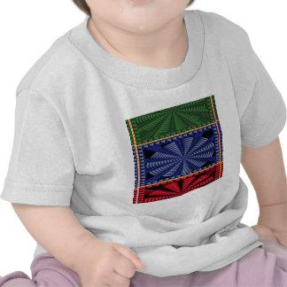 CADEAUX décoratifs colorés d art de bouton T-shirts