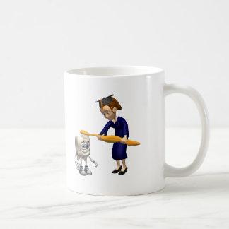 Cadeaux dentaires d'obtention du diplôme d'hygiène mug
