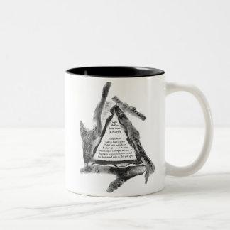 Cadeaux des animaux mug bicolore