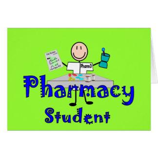 Cadeaux d'étudiant de pharmacie cartes