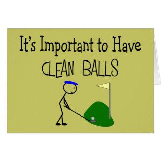 Cartes de v ux humour golf for Carte de voeux humour