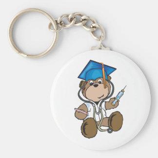 Cadeaux d'obtention du diplôme d'infirmière et dip porte-clé rond