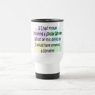 Cadeaux drôles d'assistant social mugs à café