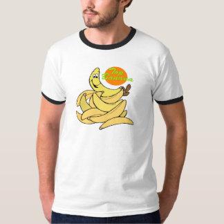 Cadeaux drôles de T-shirts de banane supérieure