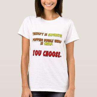 Cadeaux drôles de T-shirts de thérapie