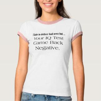 Cadeaux drôles de T-shirts d'essai de Q.I.