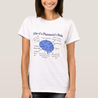 Cadeaux du cerveau du pharmacien drôle t-shirt