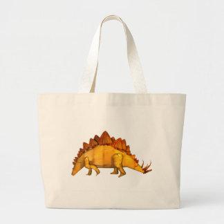 Cadeaux en bois de stegosaurus de Valxart Grand Sac