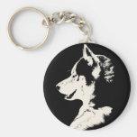 Cadeaux enroués de Malamute de chien de traîneau s Porte-clés