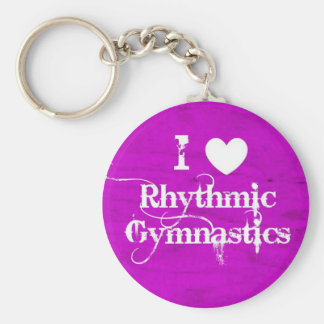 Cadeaux et accessoires de gymnastique rythmique porte-clé rond