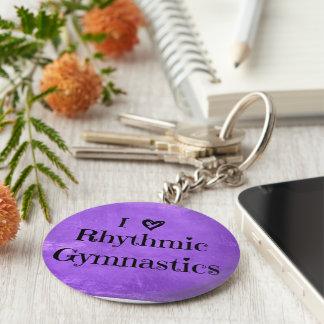 Cadeaux et accessoires de porte - clé de porte-clé rond