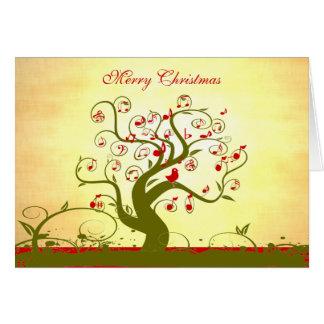 Cadeaux et invitations mignons d'arbre de remous