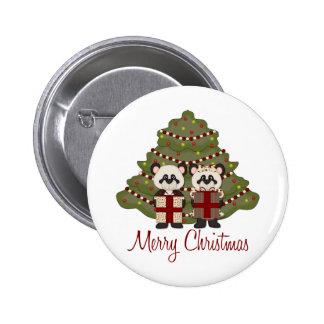 Cadeaux et tee - shirt personnalisables de panda d badge rond 5 cm