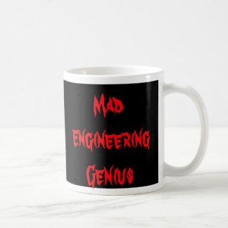 Cadeaux Geeky de ballot de geek de génie fou Mug Blanc