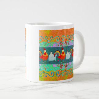 Cadeaux géniaux d'animal de ferme de poulet de pou mug jumbo