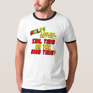 Cadeaux jumeaux mauvais drôles de T-shirts