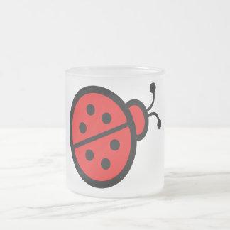 Cadeaux mignons d'art de coccinelle tasse à café