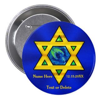 Cadeaux personnalisés bon marché de Mitzvah de Pin's