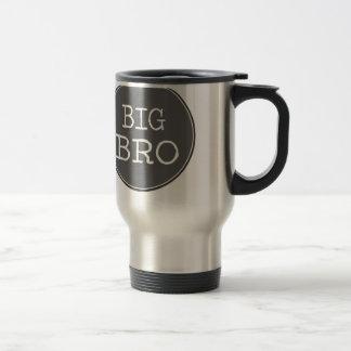 Cadeaux personnalisés de frère de garçons mug de voyage