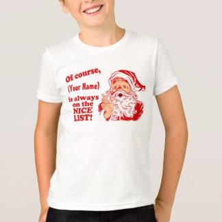 Cadeaux personnalisés de Noël T-shirt